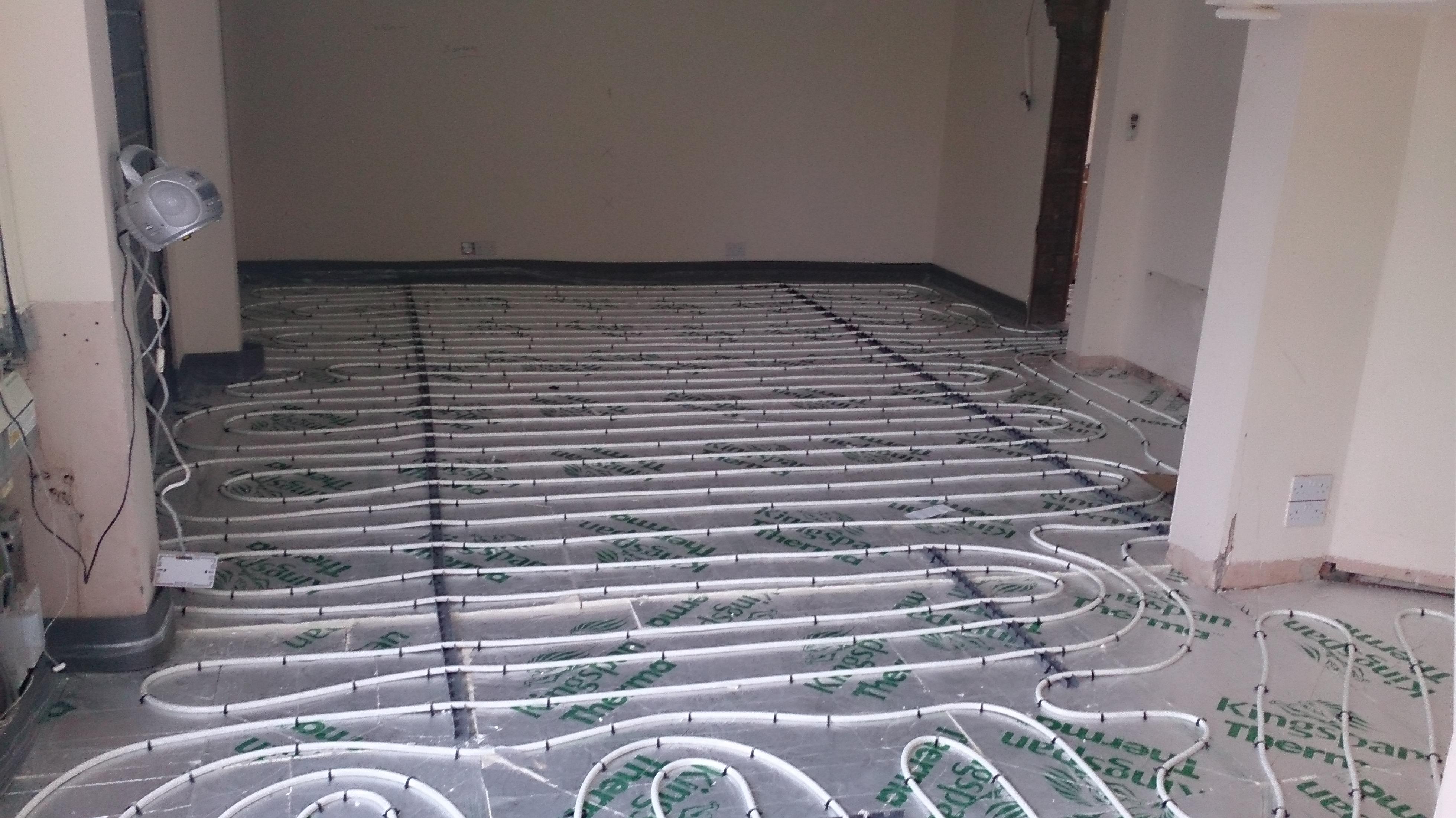 Floor Screeding Contractor Amp Underfloor Heating
